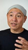 湯浅政明監督=宮本明登撮影