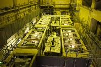 汚染水から放射性物質の一部を取り除く装置=2015年10月、東京電力提供、西澤丞さん撮影