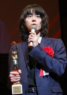 「あゝ、荒野」で男優主演賞を受賞した菅田将暉さん
