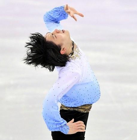 In Photos: Hanyu, Uno shine in short program skating at Pyeongchang Olympics