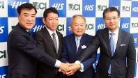 HISと日本通信が合弁でHISモバイルを設立