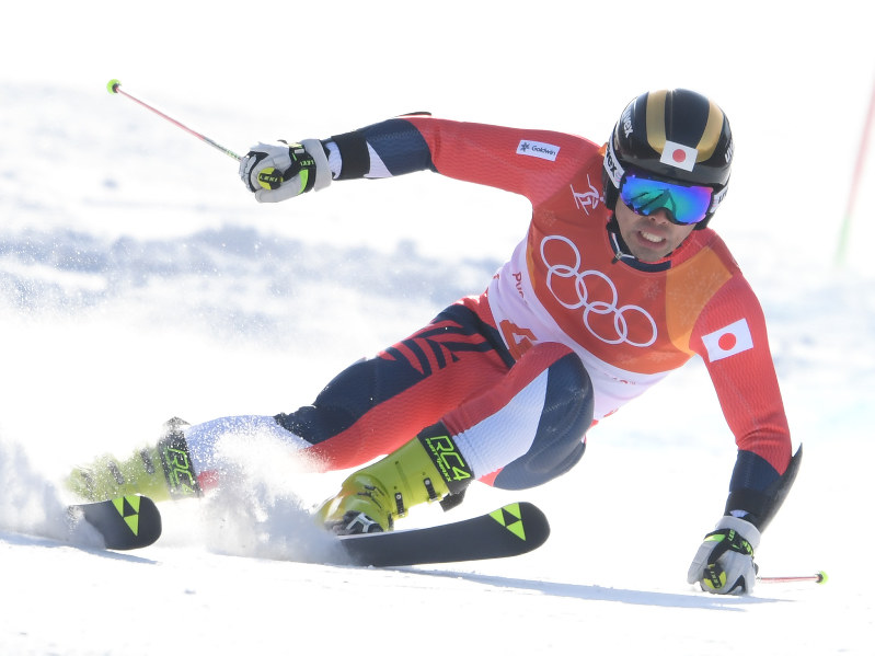 五輪スキー:男子大回転、石井30位 ヒルシャーV   毎日新聞