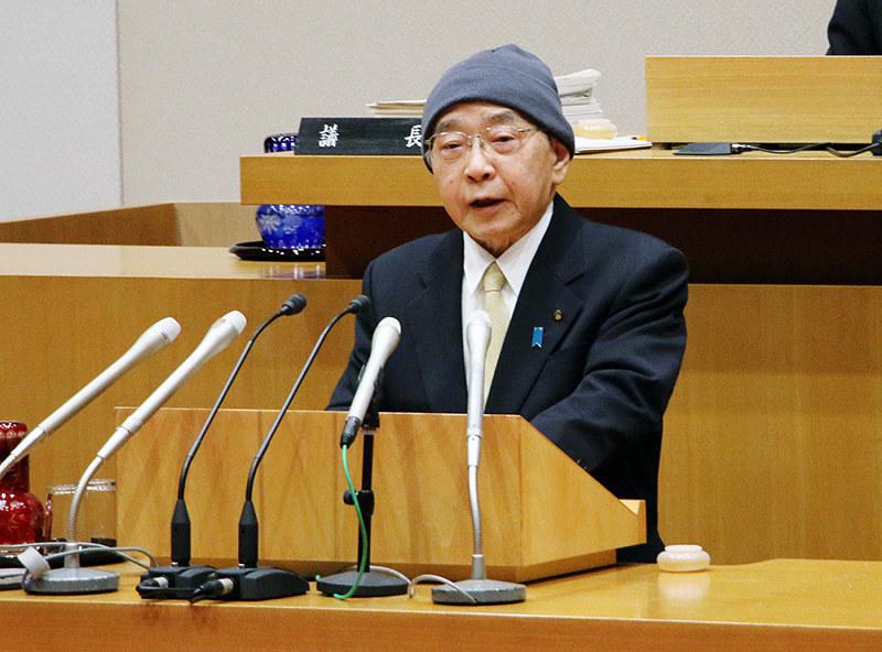 県議会:開会 「粘り強く産業振興」 53議案を提案 /島根 - 毎日新聞