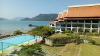 金正男が事件前に滞在していたウエスティン・ランカウイホテル=マレーシア北部ランカウイ島で、平野光芳撮影