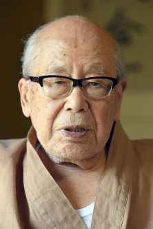 Haiku poet Tota Kaneko (Mainichi)