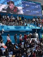 【日本―韓国】立ち見が出るほど大勢の観客が訪れた女子カーリング準決勝=江陵カーリングセンターで2018年2月23日、宮間俊樹撮影