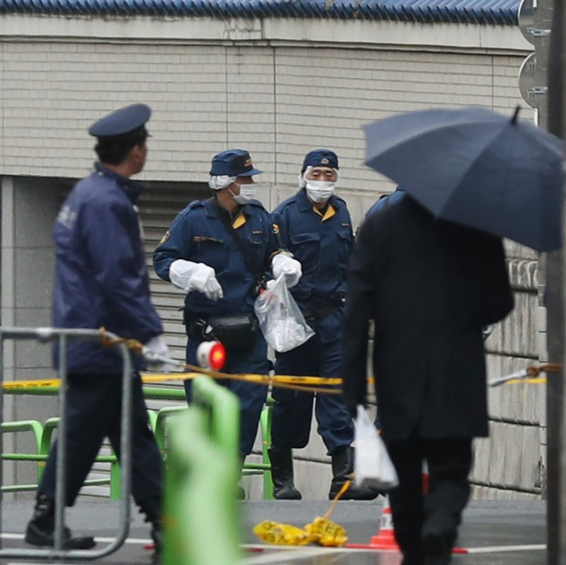2 held after firing shots at pro-N. Korea group's Tokyo headquarters