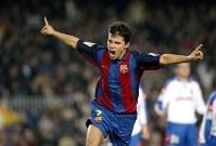 かつてバルセロナでプレーしていたサビオラ [写真]=Getty Images