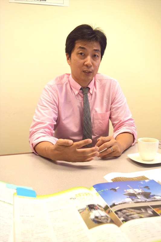 NEXCO西日本・米国法人の松本正人社長=清水憲司撮影