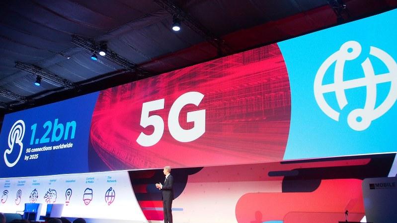 5Gは最も早い国では2019年に商用化される。日本は20年を予定。今年のMWCは5G一色だった
