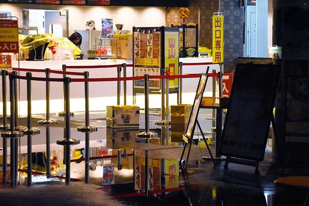 水浸し 映画館が上映中 消火設備配管から 松山 愛媛 毎日新聞