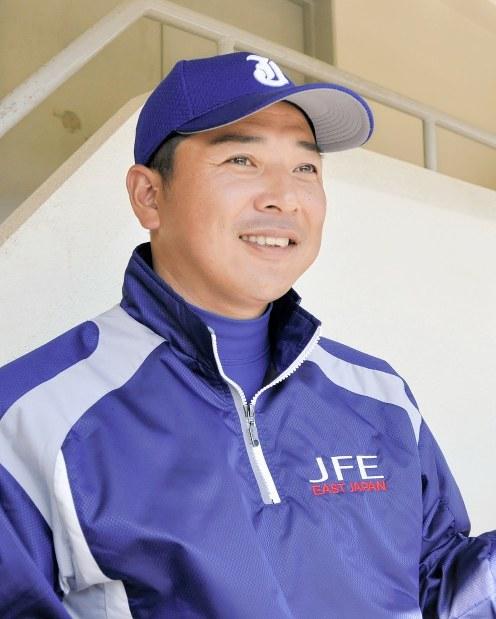 JFE東日本の落合成紀監督
