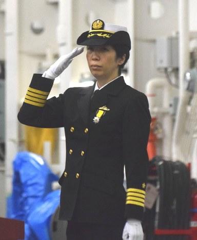 First female commander of MSDF division inaugurated at Yokosuka naval base