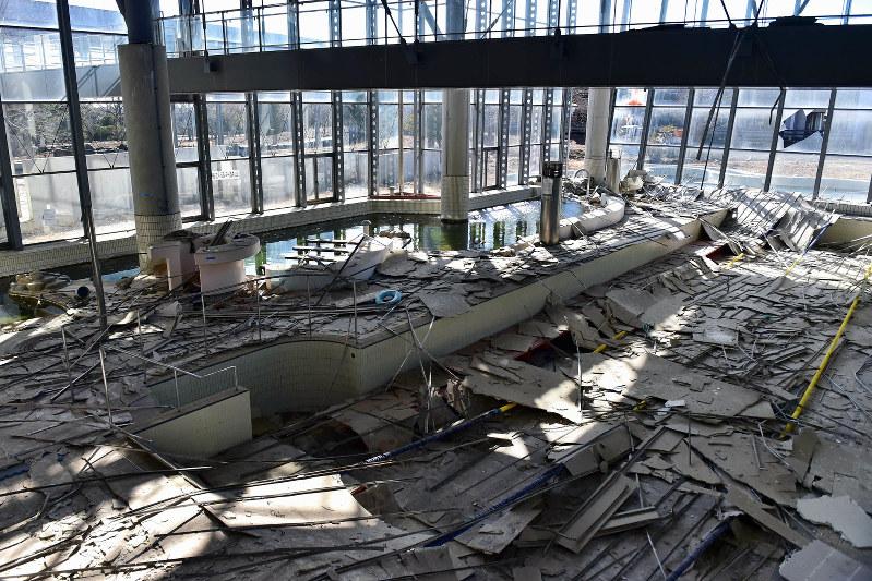7 years after quake, tsunami, Fukushima town records legacy