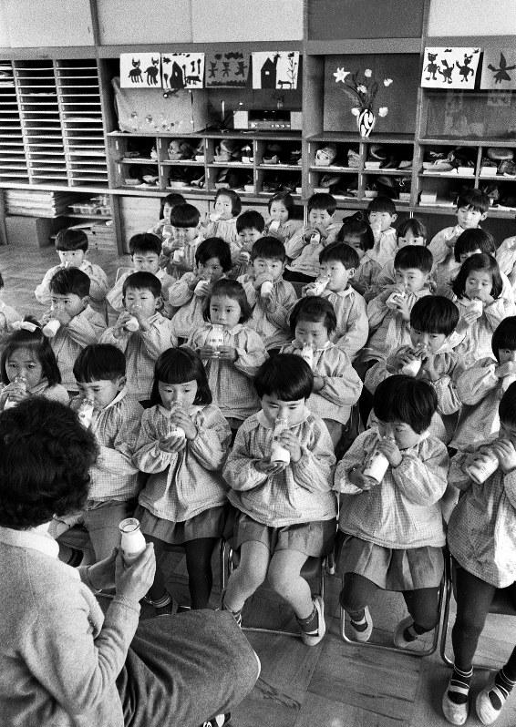 昭和43年ごろの幼稚園=大阪府内で