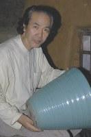 中島宏さん 76歳=青磁作家、人間国宝(3月7日死去)