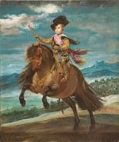 ディエゴ・ベラスケス「王太子バルタサール・カルロス騎馬像」1635年ごろ=マドリード・プラド美術館蔵@Museo Nacional del Prado