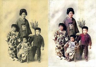 戦前写真カラー化:記憶、色鮮や...