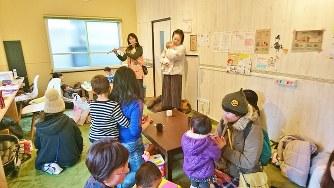 「子育てママ応援塾ほっこり~の」の店内。立ち寄りは無料だ=株式会社ほっこり~のプラス提供