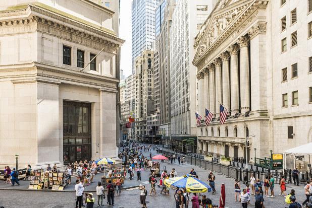 米国株はバブルなのか(ニューヨーク証券取引所)