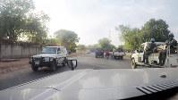 南スーダンの首都ジュバで出会ったPKO部隊=西谷文和さん撮影