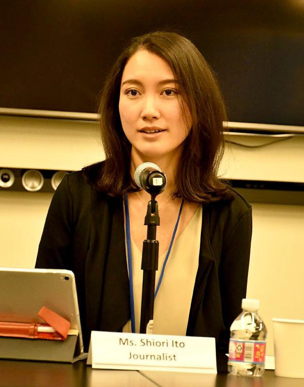 セクハラ撲滅:国連で伊藤さん会見「WeToo」運動提唱