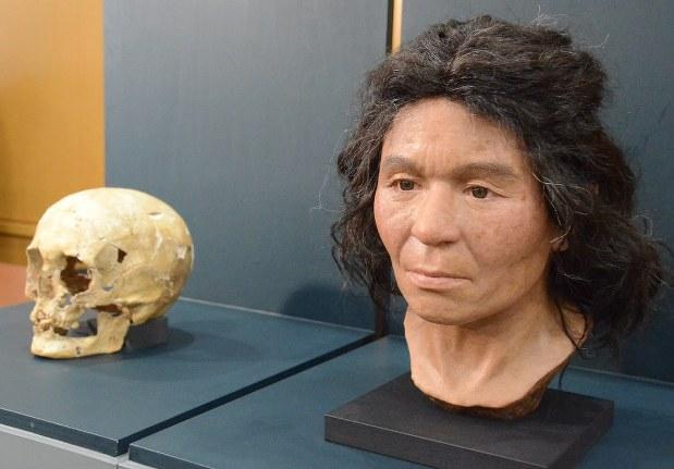 Реконструкция внешности древней жительницы Хоккайдо