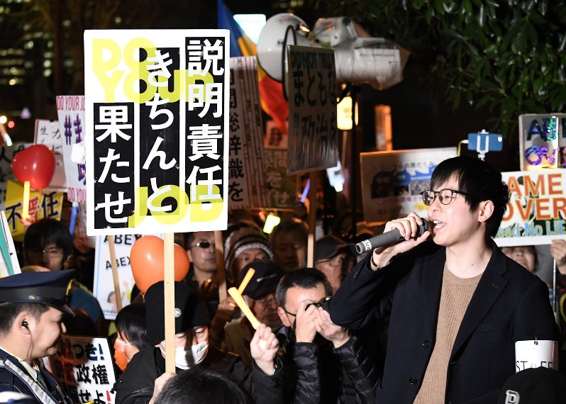 Nearly half of Japanese think Abe should quit over land sale scandal
