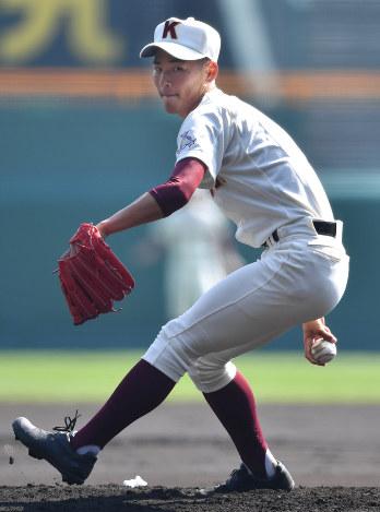 選抜高校野球:高知の中屋投手、...