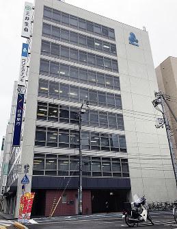 香川県内の商業地で価格、上昇率ともにトップだった高松市磨屋町2-6外=岩崎邦宏撮影
