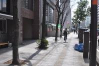 県内の商業地で最も地価が上昇した仙台市青葉区の「上杉2-4-21」