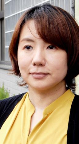 作家、柴崎友香さん=東京都世田谷区で2018年3月16日午後3時52分、鶴谷真撮影