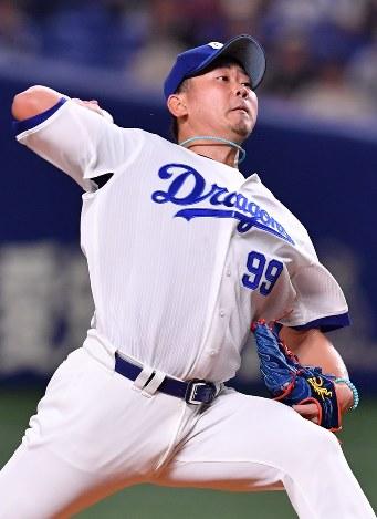 プロ野球:中日の松坂が先発 公...