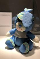 ある女性が「子供戦争博物館」に託した人形。紛争中、兄を亡くした女性の心を唯一癒やしてくれる存在だったという=サラエボで3月12日