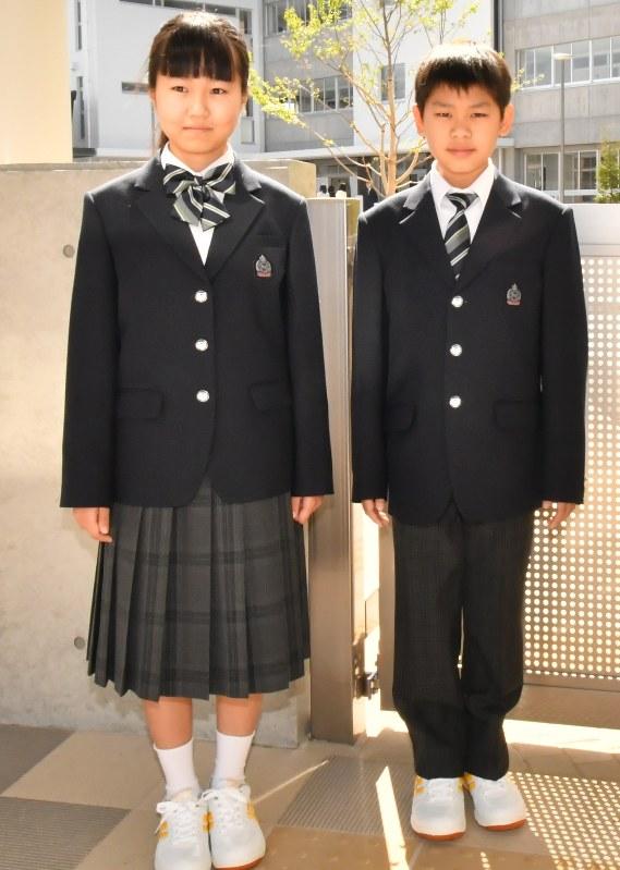 高校 制服 柏の葉