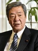 竹下亘・自民党総務会長=藤井達也撮影