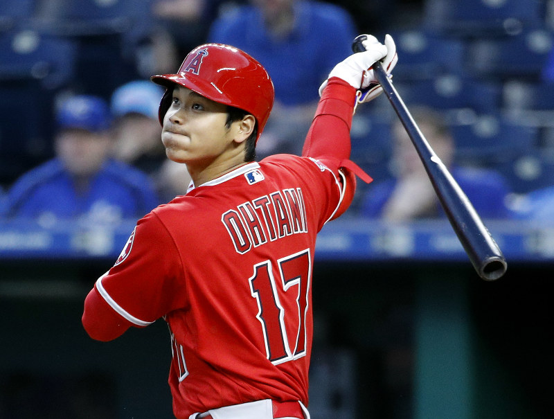 Ohtani's 3-run triple sends Angels to 7-1 win over Royals