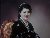 Ko Yong Hui, mother of North Korean leader Kim Jong Un. (Photo courtesy of the source.)