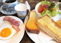 バランスのとれた朝食をとって、きょうもさわやかなスタートを切りましょう=小島正美撮影