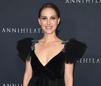 In this Feb. 13, 2018, file photo, Natalie Portman arrives at the Los Angeles premiere of