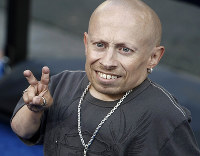 In this June 11, 2008 file photo, actor Verne Troyer poses on the press line at the premiere of the feature film