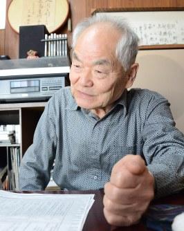 Koichi Miyake wonders what happened to the girl that underwent forced sterilization surgery, in Sendai, on April 21, 2018. (Mainichi)
