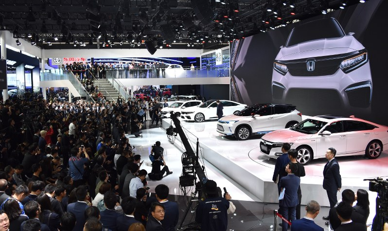 Beijing Car Show Focus On EVs Spotlights Growing Importance Of China - Car exhibition