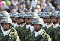 Self-Defense Forces troops (Mainichi)