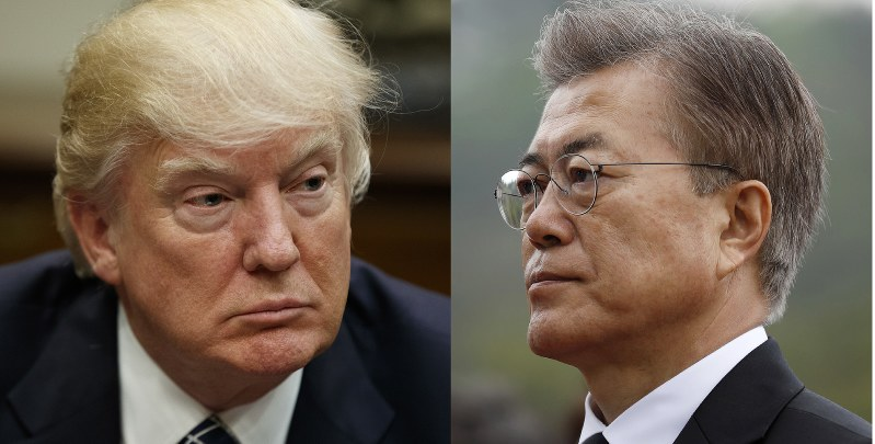 Trump to meet Moon over N/Korea's Kim Jong Un