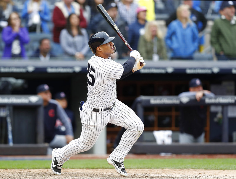 MLB: Torres HR in 9th, Yanks top Indians 7-4