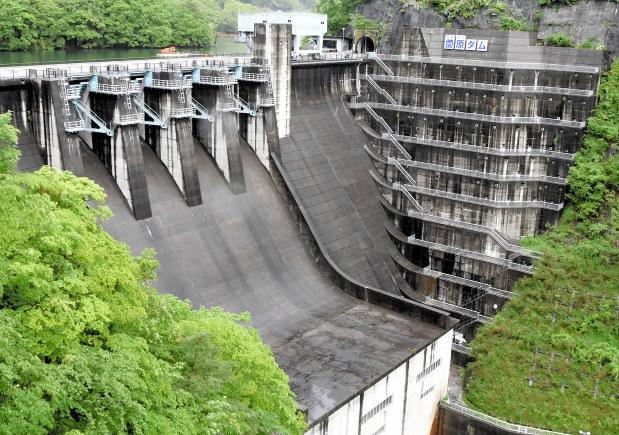 群馬:薗原ダム20日に放流 「堰...