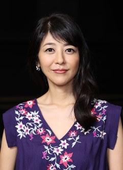 女優の白石美帆さん=小出洋平撮影