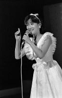 故・岡田有希子さん=1984年