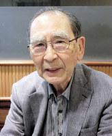 社会学者の加藤秀俊さん=大井浩一撮影